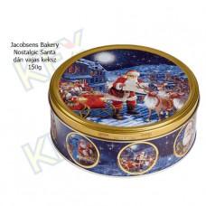 Jacobsens Bakery Nostalgic Santa dán vajas keksz 150g