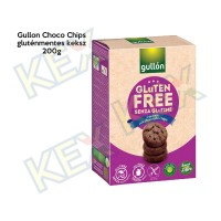Gullon Choco Chips gluténmentes keksz 200g
