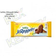 belVita JóReggelt! keksz 30% cukorral kakaó ízű 50g