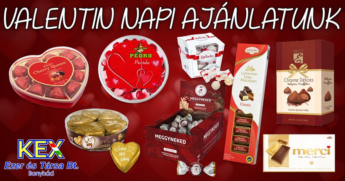 Valentin napi ajánlatunk
