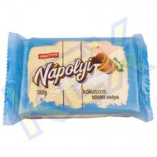 Dolcetta töltött ostya kakaó-kókusz ízű 180g