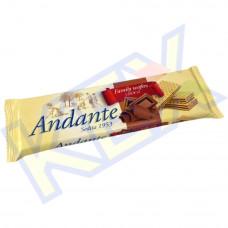 Andante töltött ostya kakaó ízű 130g