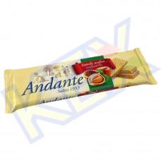 Andante töltött ostya mogyoró ízű 130g