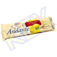 Andante töltött ostya citrom ízű 130g