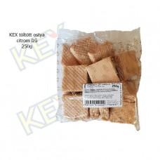 KEX töltött ostya citrom ízű 250g