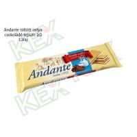 Andante töltött ostya csokoládé-tejszín ízű 130g