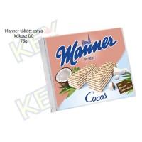 Manner töltött ostya kókusz ízű 75g
