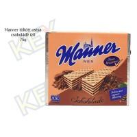 Manner töltött ostya csokoládé ízű 75g