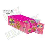 Poppin Lolly pop nyalóka eper ízű 18,5g