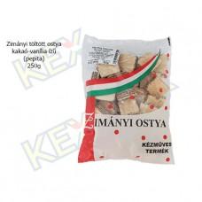Zimányi töltött ostya kakaó-vanília ízű (pepita) 250g