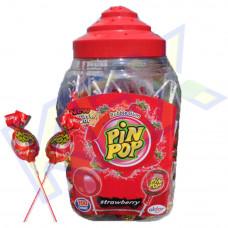 Aldor Pin Pop nyalóka eper ízű 18g