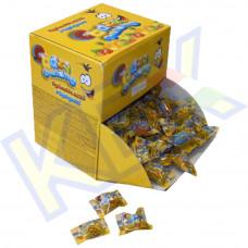 Crazy Gummy 1 szemes rágó vegyes gyümölcs ízű 3,25g