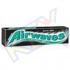 Airwaves Black Mint rágó ánizs és mentol ízű 14g