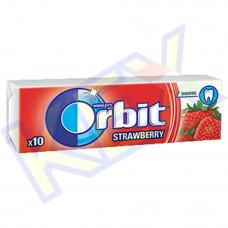 Orbit Strawberry rágó eper ízű 14g