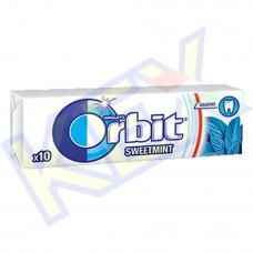 Orbit Sweetmint rágó menta ízű 14g
