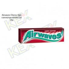 Airwaves Cherry rágó cseresznye és mentol ízű 14g