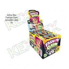 Johny Bee Fashion Gum tetoválós rágó 5g