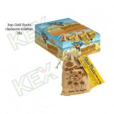 Jojo Gold Rocks rágógumi zsákban 28g