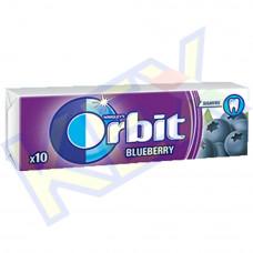Orbit Blueberry rágó feketeáfonya ízű 14g