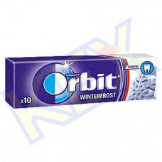 Orbit Winterfrost rágó menta és mentol ízű 14g