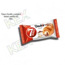 7days Double croissant kakaó-vanília ízű 80g