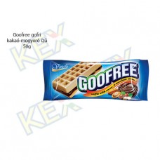 Goofree gofri kakaó-mogyoró ízű 50g