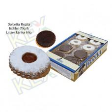 Dolcetta Rozita teasütemény Isler 70g - Linzer karika 60g