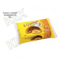 Gusparo croissant sárgabarack ízű krémmel 45g