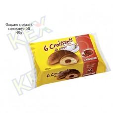 Gusparo croissant cseresznye ízű krémmel 45g