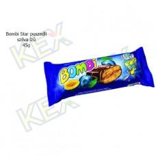 Bombi Star puszedli szilva ízű 45g