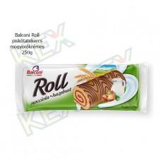 Balconi Roll piskótatekercs mogyorókrémes 250g