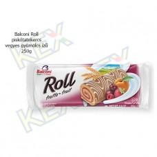 Balconi Roll piskótatekercs vegyes gyümölcs ízű 250g