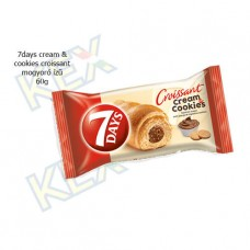 7days cream & cookies croissant mogyoró ízű 60g
