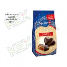 Bahlsen Akora puszedli étcsokoládé 150g