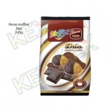 Heras muffins duo 245g