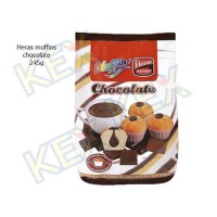 Heras muffins chocolate 245g