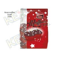 Heras muffins in red 215g