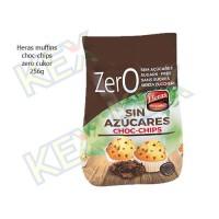 Heras muffins choc-chips zero cukor 256g