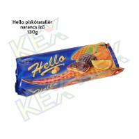 Hello piskótatallér narancs ízű 130g