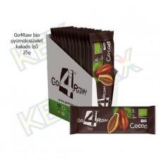 Go4Raw bio gyümölcsszelet kakaós ízű 25g