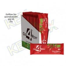 Go4Raw bio gyümölcsszelet goji ízű 25g