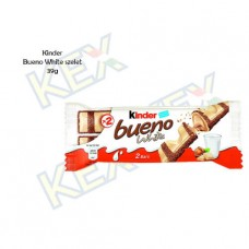 Kinder Bueno White szelet 39g