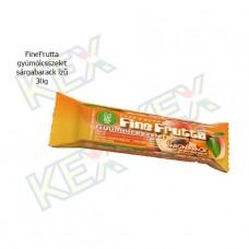 FineFrutta gyümölcsszelet sárgabarack ízű 30g