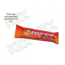 FineFrutta gyümölcsszelet vörösáfonya ízű 30g