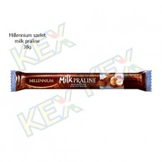 Millennium szelet milk praline 38g