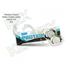MaxSport Royal Malibu Protein szelet kókusz ízű 60g