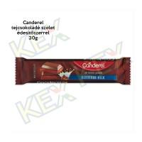 Canderel tejcsokoládé szelet édesítőszerrel 30g