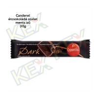 Canderel étcsokoládé szelet  menta ízű 30g