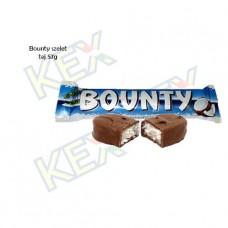 Bounty szelet tejcsokoládés 57g
